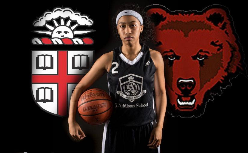 Congratulations Hennessey Luu-Brown on her Commitment to Brown University!!!