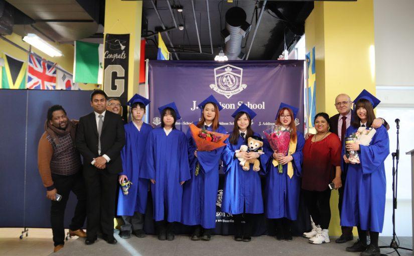 Winter Graduation Class of 2019-2020