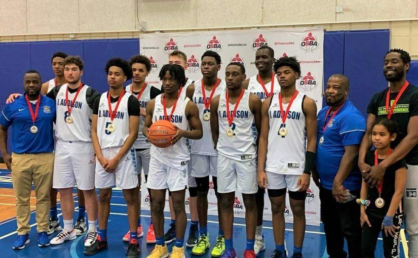 Boys Basketball team wins OSBA Challenge Series