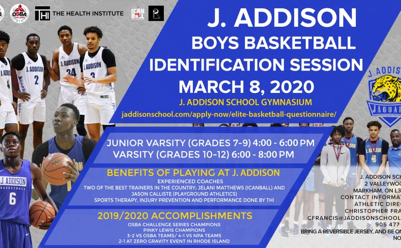 Boys Basketball ID Session