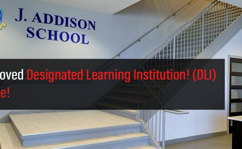 J. Addison School is an approved DLI!