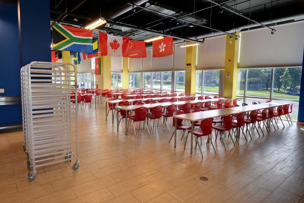 Inside School Building J Addison School