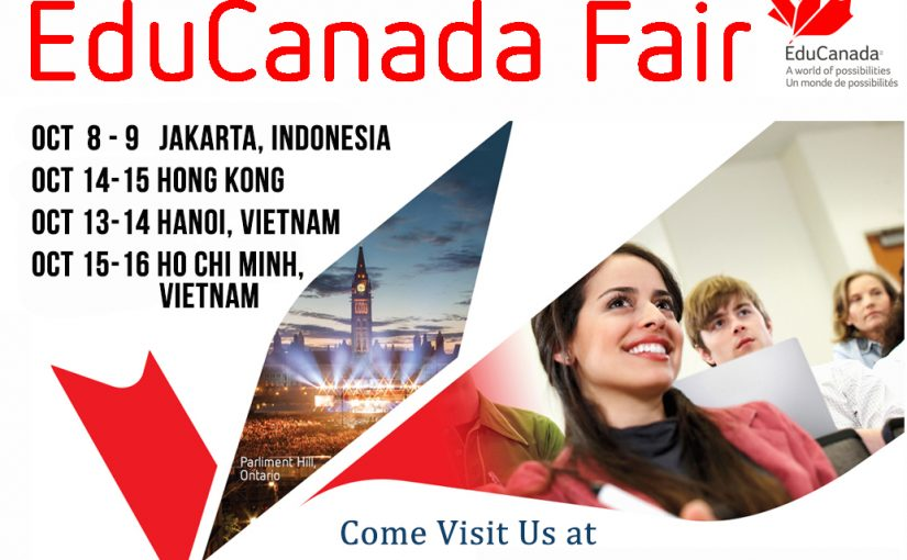 J. Addison On The Road: EduCanada Fair 2017